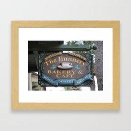 The Bunnery Bakery & Cafe Framed Art Print