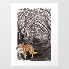 I am a Fox Art Print