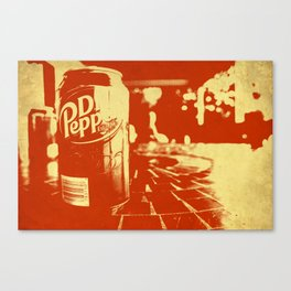 Pop Dr. Pepper Canvas Print