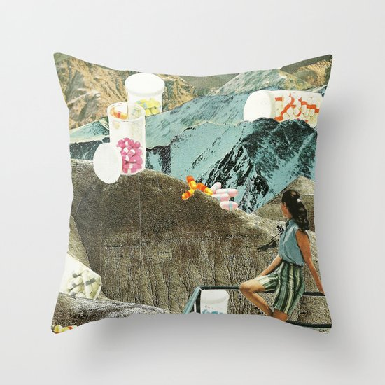 Valley of the Dolls Throw Pillow