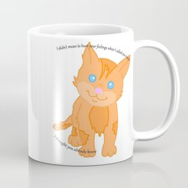 Cat called you stupid Coffee Mug