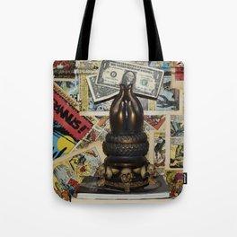 Pray for money Tote Bag