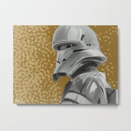 Tank Trooper Metal Print
