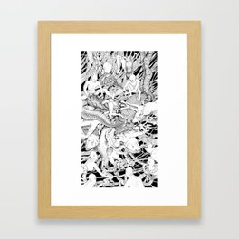 At War With Nature Framed Art Print