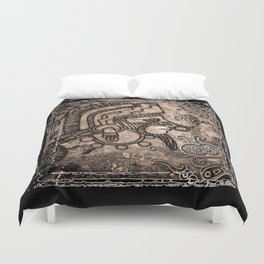 Ancient Mexico2 Duvet Cover