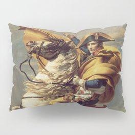 Napoleon Crossing the Alps Pillow Sham