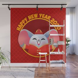 NEW YEAR 2020 Year of the rat Wall Mural
