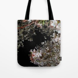 blossom by night Tote Bag