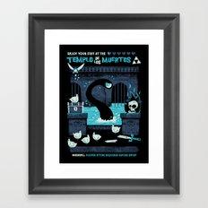 Templo de los Muertos Framed Art Print