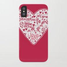 Te Amo iPhone X Slim Case