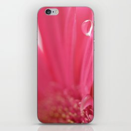 Pink Tear Drop iPhone Skin
