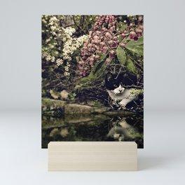 the pond Mini Art Print