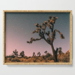 Good Night Magic - Joshua Tree  Serving Tray