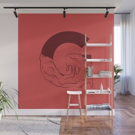 G Illustrated Wall Mural