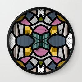 PopArt Tile 2 Wall Clock