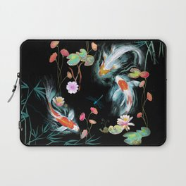 Japanese Water Garden Laptop Sleeve