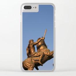 Skopje IV Clear iPhone Case