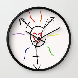 Cis-ters Wall Clock