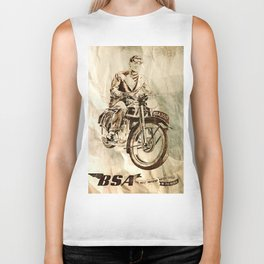 BSA - Vintage Poster Biker Tank