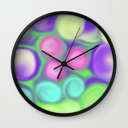 Fruity colours Wall Clock