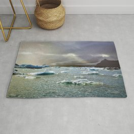 Land of Fire and Ice Rug