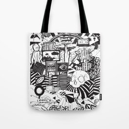 Doughnut City Tote Bag