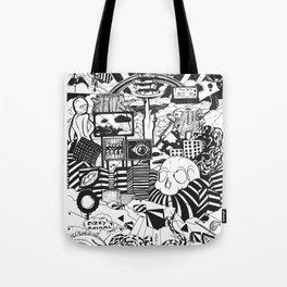 Doughnut City Tote Bag