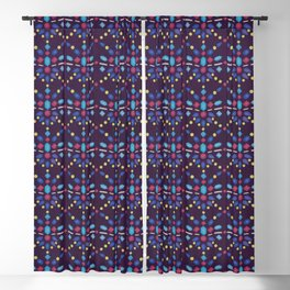 Crystals and Gemstones Blackout Curtain