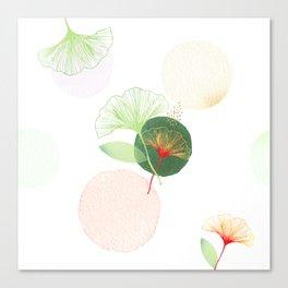 Ginkgo biloba Canvas Print