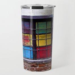 Window of Many Colors Travel Mug