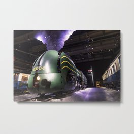 Streamlined Belgian Metal Print
