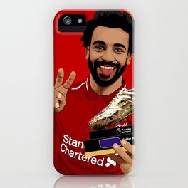 Mohammed Salah iPhone Case