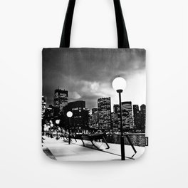 Mono-Chrome City Tote Bag