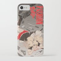 dangan ronpa iPhone & iPod Cases featuring fashion monster by Cori Walters