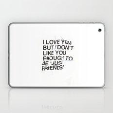 Just Friends Laptop & iPad Skin