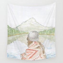 Mornings at the Lake Wall Tapestry