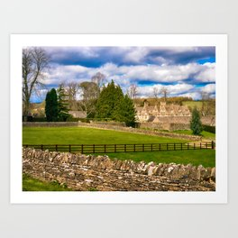 Manor House Art Print