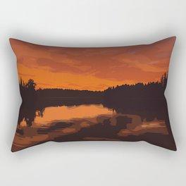 Nopiming Provincial Park Poster Rectangular Pillow