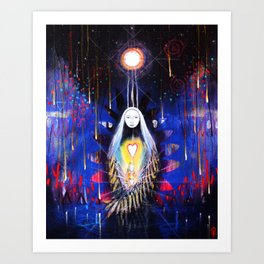 Our Spirits Are Always With Us Art Print