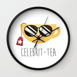 Celebrit-tea Wall Clock