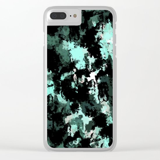 Abstract 26 Clear iPhone Case
