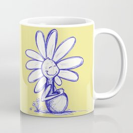 """Warm Food Means Someone Loves You"" Flowerkid Coffee Mug"
