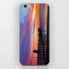 Huntington Beach Sunset   ~  12/15/13  iPhone Skin