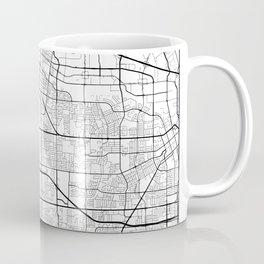 Minimal City Maps - Map Of Sunnyvale, California, United States Coffee Mug