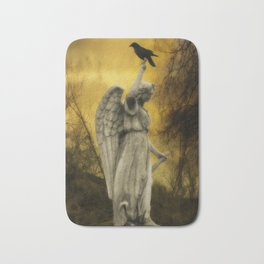 Golden Eclipse Bath Mat