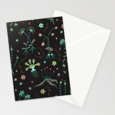 Floral Pattern Stationery Cards