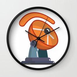 telecommunic.eye.tions Wall Clock