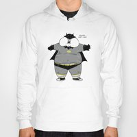the neighbourhood Hoodies featuring Fat Kid Costume by Pigboom Art
