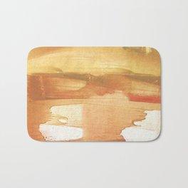 Peru colored watercolor design Bath Mat