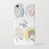 golden girls iPhone & iPod Cases featuring I Heart the Golden Girls Print by Jackie Thomson